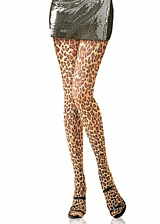 Collant  Leopard Skin